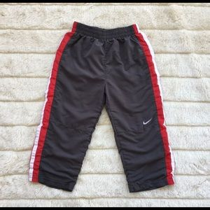 Nike Toddler Sweat Track Pant 4T Gray, Red, White